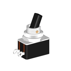 SE702 Toggle Switch 2A SPST Commercial