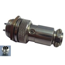 SE127 Round Shell Connector 16mm - 4 Way