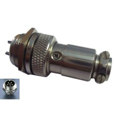 SE129 Round Shell Connector 16mm 6 Way