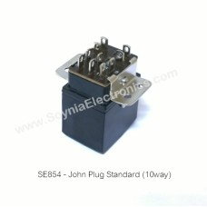 SE854 John's Plug & Socket Standard 10 way