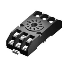 SE968 Relay Socket 11 Pin Rail Mtd