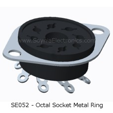 SE052 Octal Socket Metal Ring