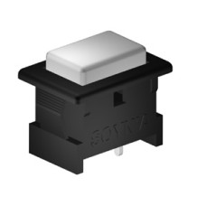 SE949 Push Button Rectangular Snap Mounting
