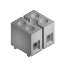 SE008 Terminal Block 2Way Sq. 15A