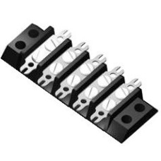SE393 Terminal Block Double Solder Fork Type 10A 5 Way