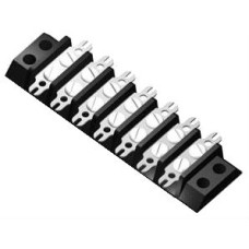 SE395 Terminal Block Double Solder Fork Type 10A 7 Way